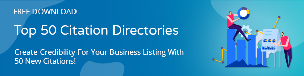 Top 50 Citation Directories