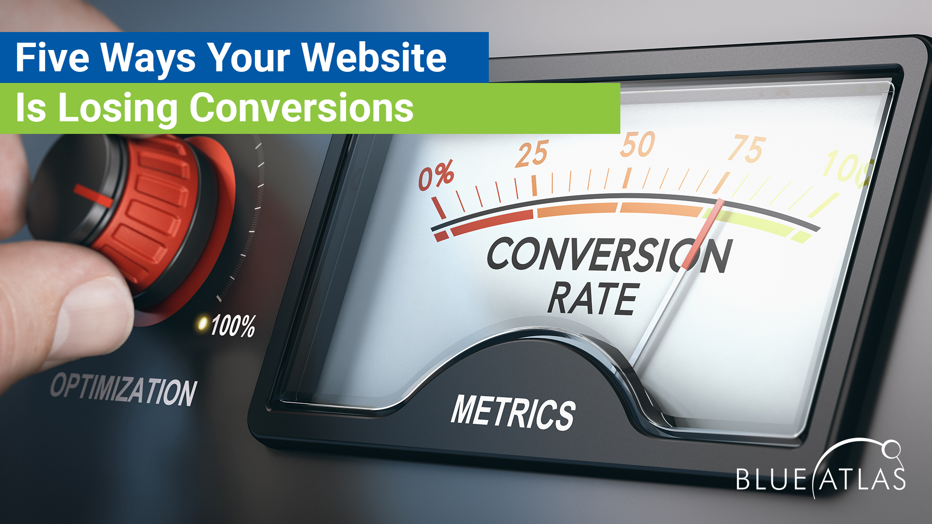 5 ways your website is losing conversions_