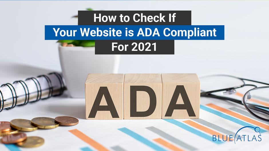 Does Your Website Meet ADA Compliance Standards?