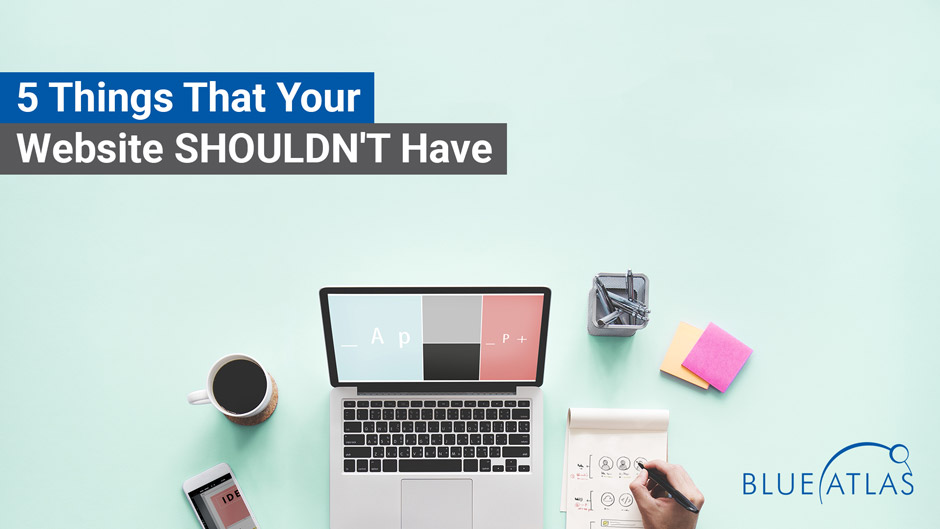 5 things websites shouldn't have