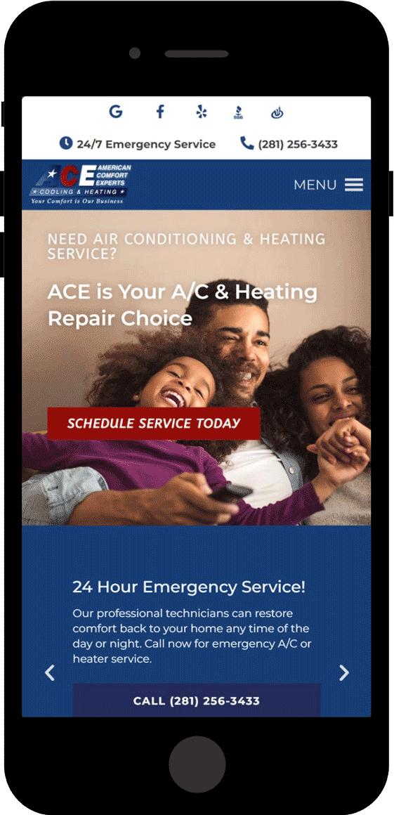 ACE - AC Repair Website